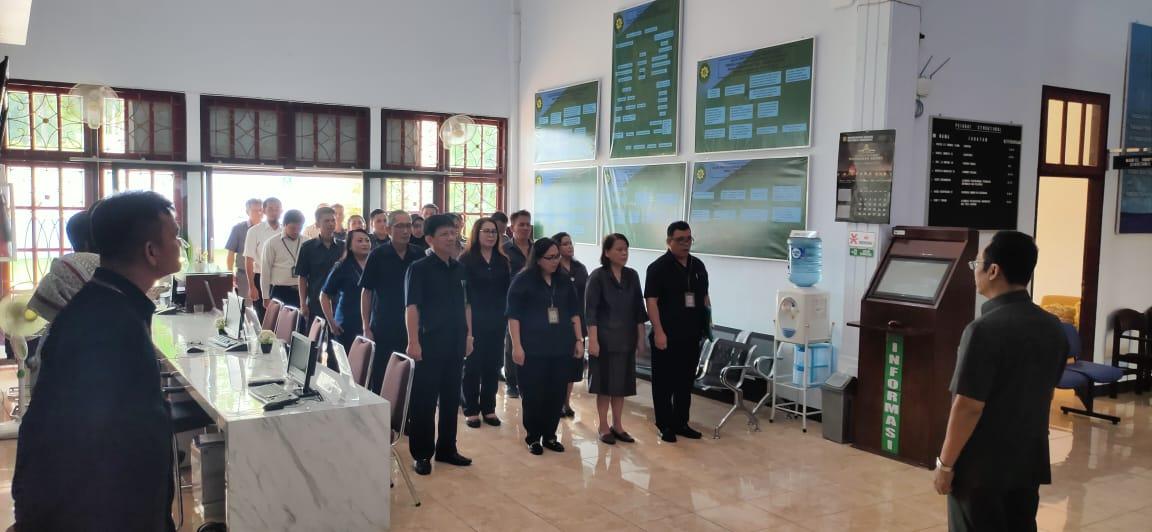 Apel Pagi PTUN Manado