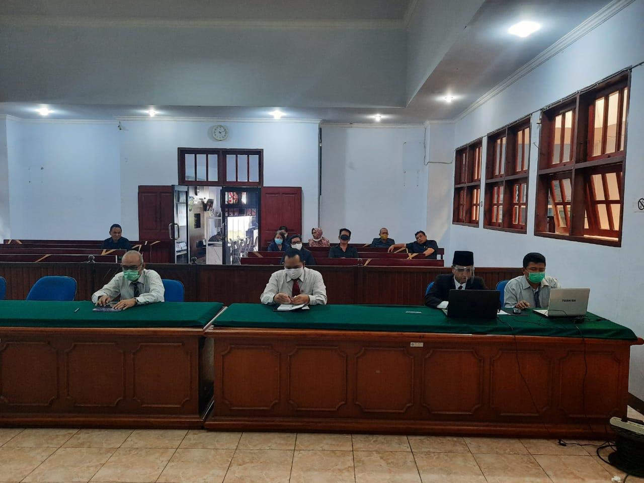 Launching Virtual Direktori Putusan Versi 3 dan Penyerahan Anugerah Mahkamah Agung Tahun 2020 serta Dialog Interaktif