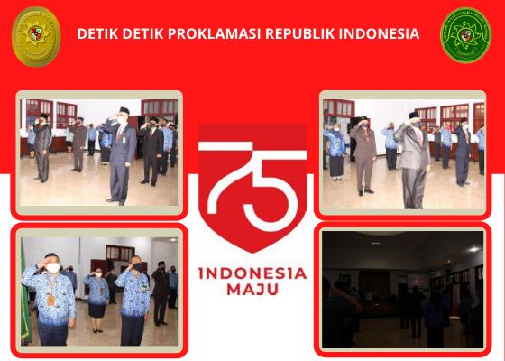 Live Streaming Upacara Peringatan HUT Republik Indonesia ke-75 dari Istana Negara R.I.