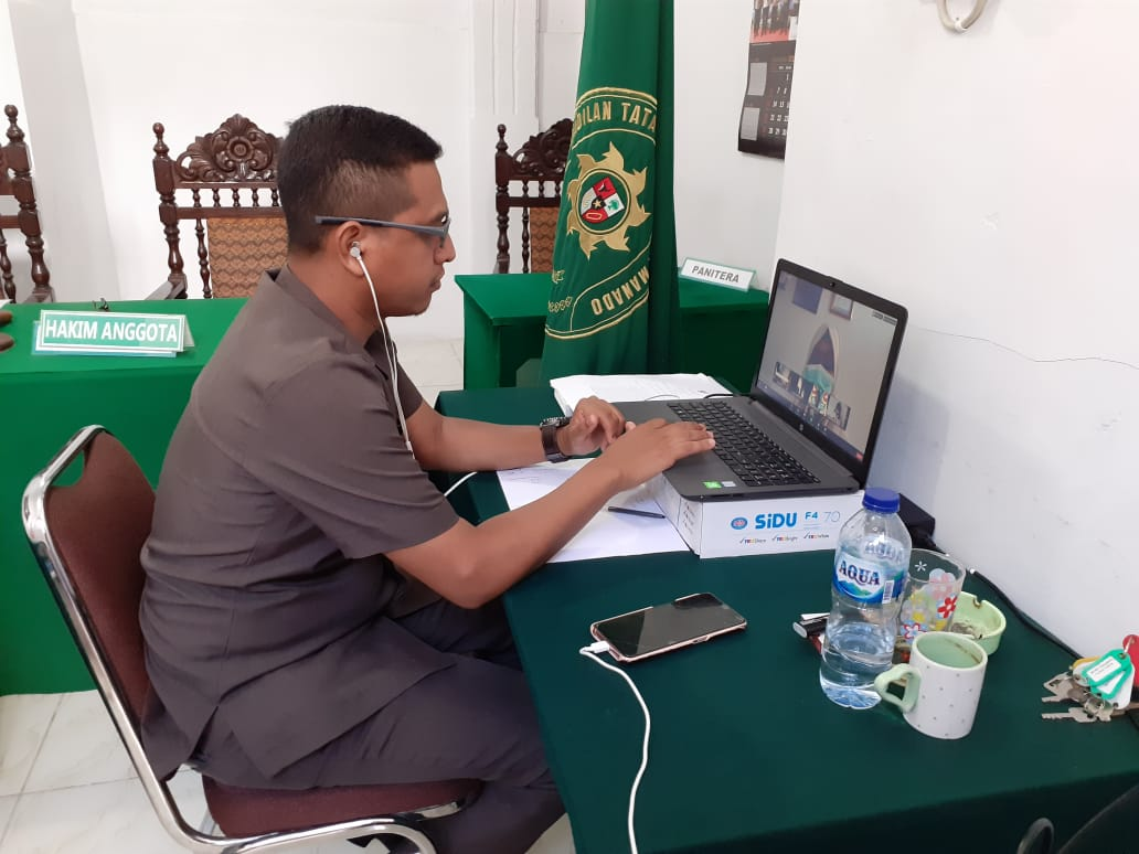 Sosisalisasi Hukum Online Tahun 2020 Pemerintah Kota Manado