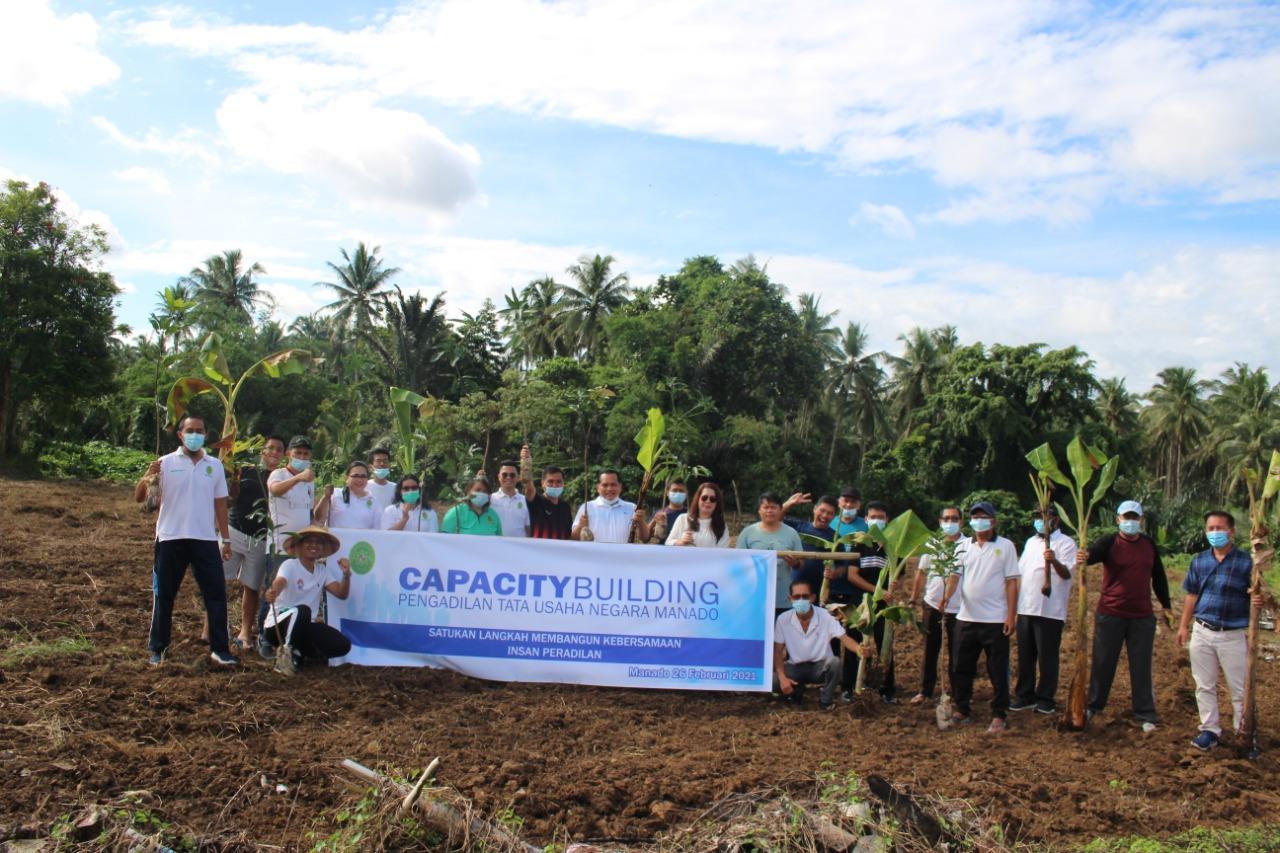 Kegiatan Capacity building PTUN Manado