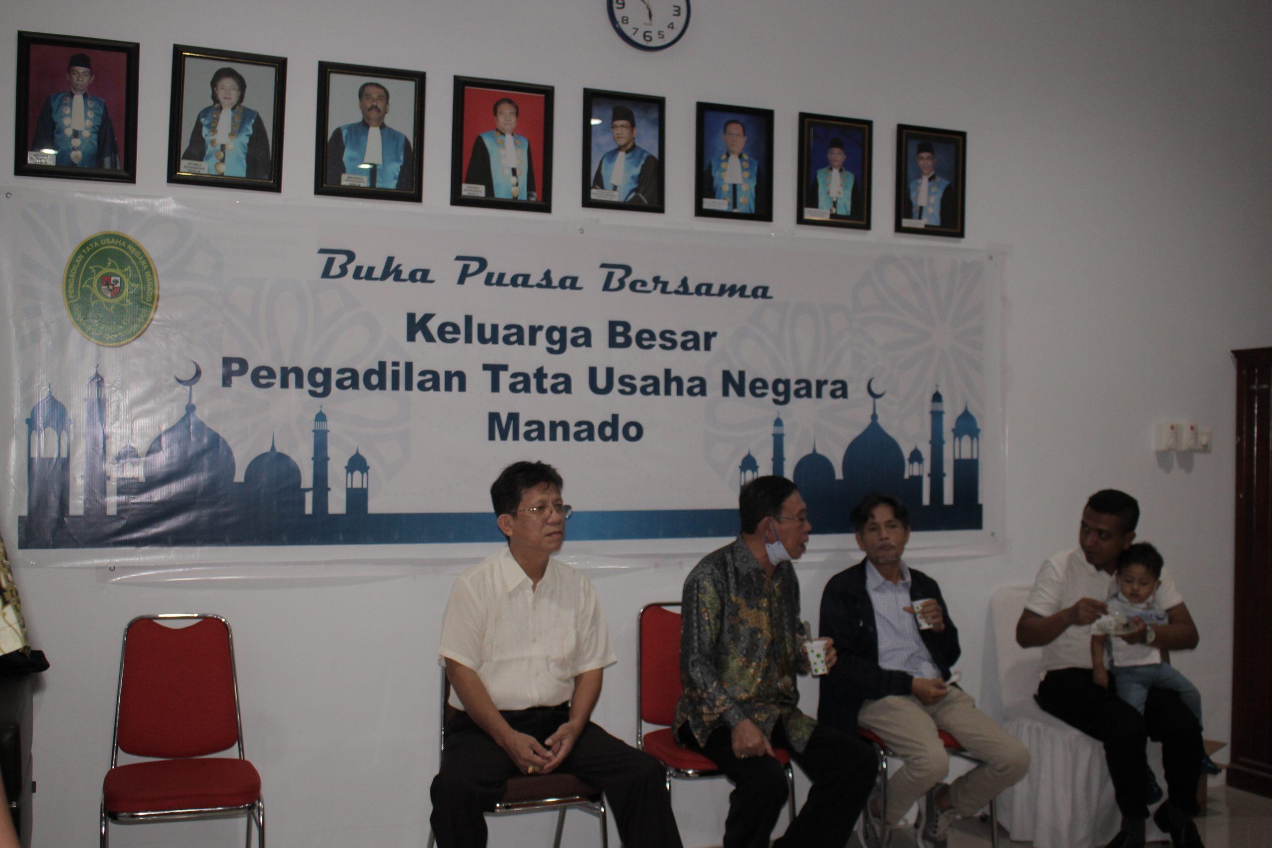 Acara Buka Puasa Bersama Keluarga Besar Pengadilan Tata Usaha Negara Manado