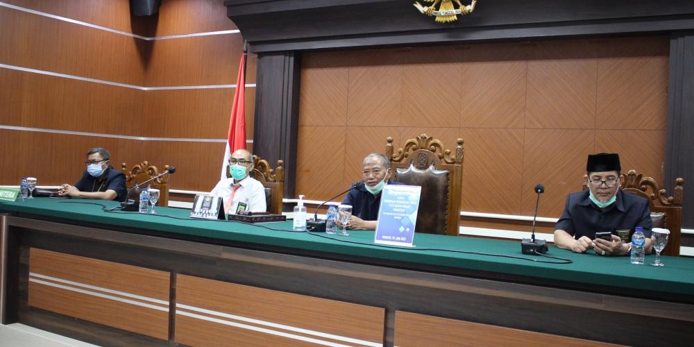 Rapat Pembinaan dari Pengadilan Tinggi Tata Usaha Negara Makassar