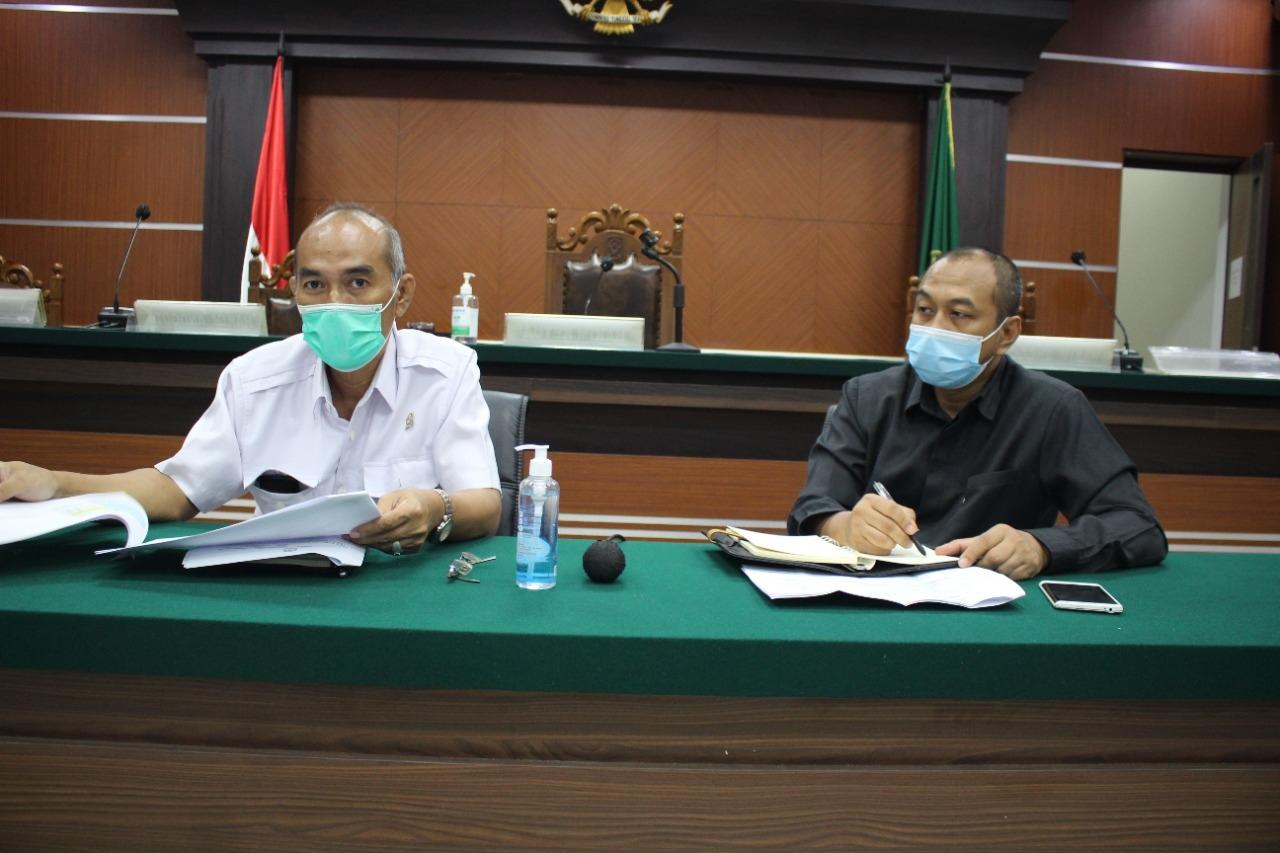 Rapat Koordinasi PTUN Manado Menyambut kedatangan Yang Mulia Ketua Mahkamah Agung RI di Pengadilan Terpadu Manado